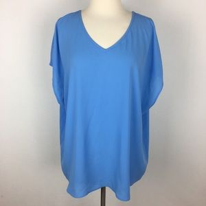 NWT Chico's Thea Fashion Basic Top size 3